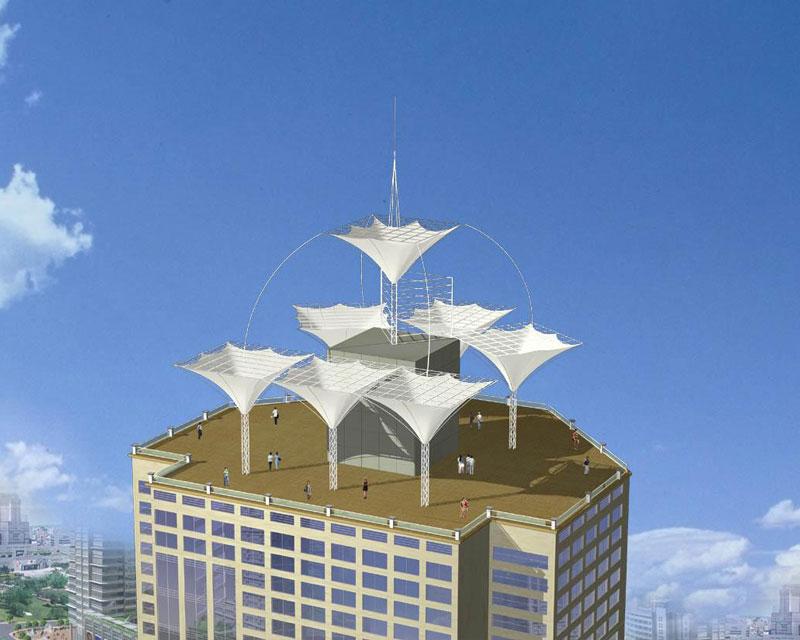 膜结构屋顶屋面