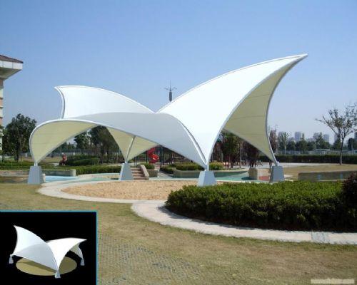 艺术性与实用性共存的膜结构工程