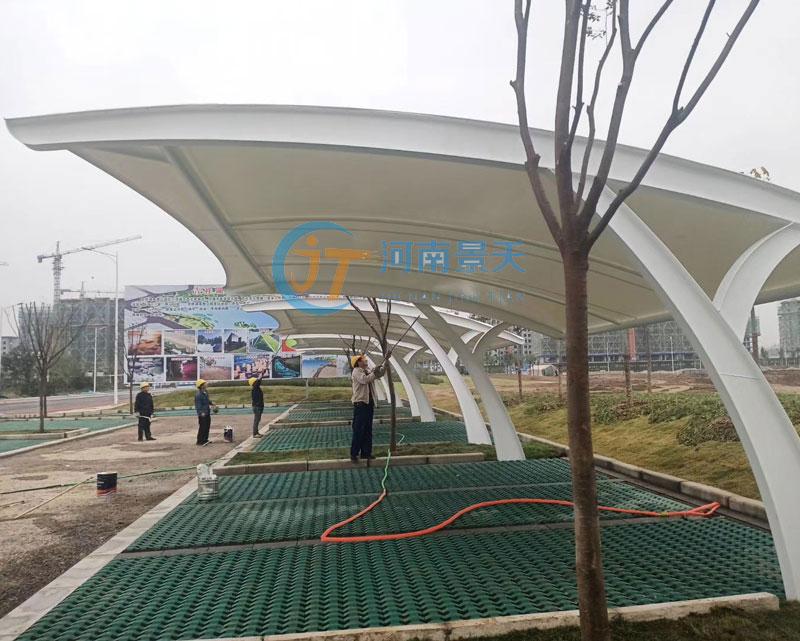 郑州膜结构车棚