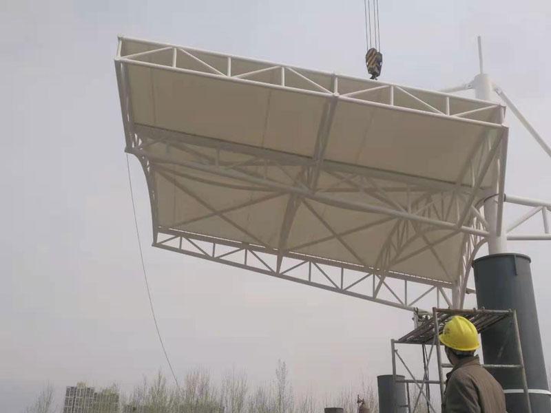 膜结构看台安装