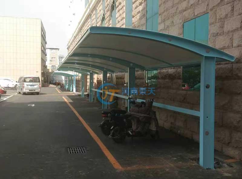 郑州车棚膜结构