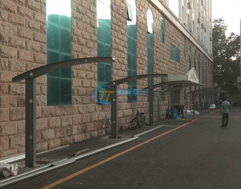 焦作膜结构自行车车棚